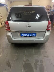 Установка парктроников на Opel Zafira 2