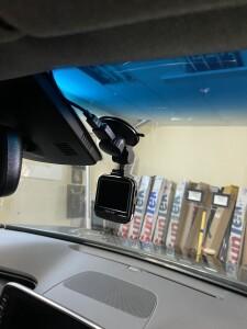 Установка видеорегистратора на Hyundai SantaFe 1
