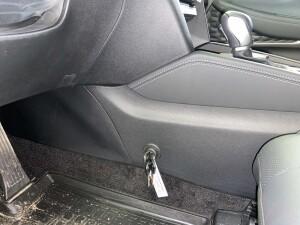 Установка замка на кпп на Hyundai SantaFe 1