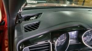 установка акустики Kia Ceed 5