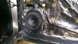 установка акустикиSubaru Forester 5