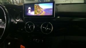 установка головного устройства на Mercedes GLK 2