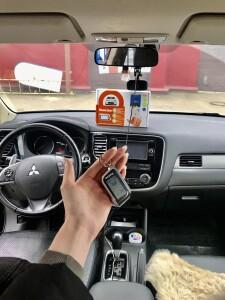 установка сигнализации Mitsubishi Outlander