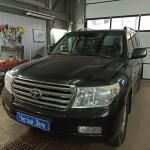 установка сигнализации на Toyota LC 200 1