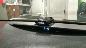установка видеорегистратора на Toyota camry 3