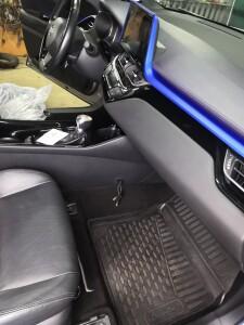 установка зкпп Toyota CH-R 3