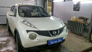 Установка акустики на Nissan Juke 1
