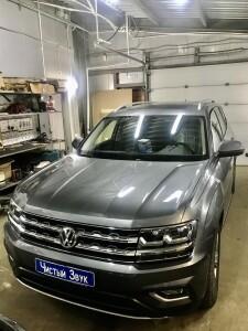 Установка фаркоа на Volkswagen Teramont 1