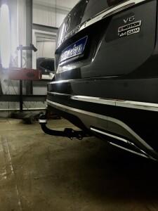 Установка фаркоа на Volkswagen Teramont 3