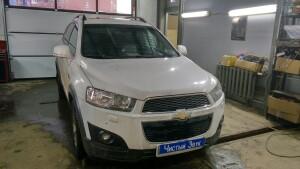 Установка магнитолы на Chevrolet Captiva 1