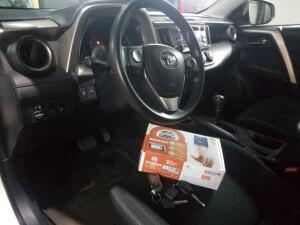 Установка сигнализации на Toyota RAV-4 2