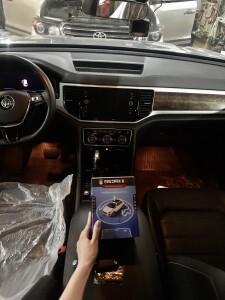 Установка сигнализации на Volkswagen Teramont 1