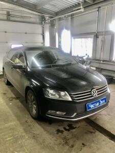 Установка усилителя на Volkswagen Passat 1