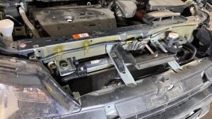 Установка замка капота на Mitsubishi Outlander 5