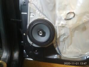 установка акустики Kia Sportage 3