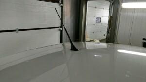 установка антены на Volkswagen Polo 2