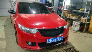установка динамиков на Honda Accord 1