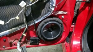 установка динамиков на Honda Accord 2