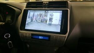 установка головного устройства на Toyota LC 150 Prado 2