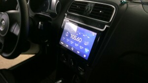 установка головного устройства на Volkswagen Polo 2