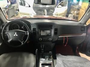 установка магнитолы на Mitsubishi Pajero 2
