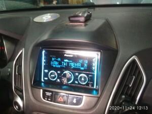 установка музыки на Hyundai IX35 3