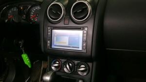 установка оловного устройства на Nissan Qashqai 1