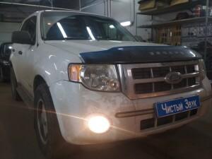 установка птф на Ford Escape 4