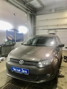 установка сигнализации Volkswagen Polo 1