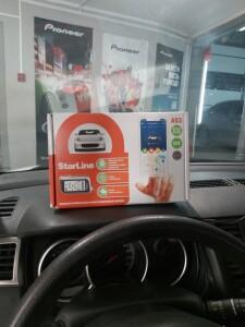 установка сигнализации на Nissan Tiida 2