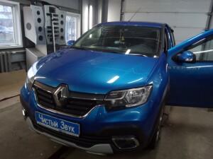 установка сигнализации на Renault Logan 1