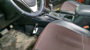 установка замка кпп на Toyota LC 200 2