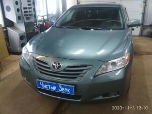 установка зеркала заднего вида Toyota Camry 1