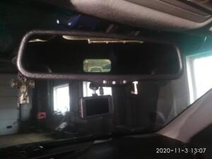 установка зеркала заднего вида Toyota Camry 3
