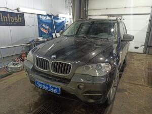BMW X5 установка сигнализации 1