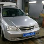 Chevrolet Lacetti установка парктроников 1