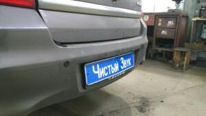 Datsun On-Do установка парктроников 2