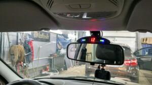 Datsun On-Do установка парктроников 3
