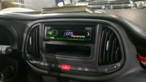 Fiat Doblo установка музыки 3