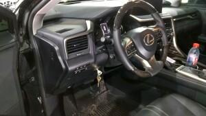 Lexus RX350 установка замка на руль 1