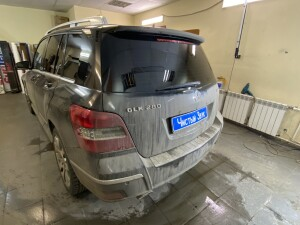 Mercedes GLK тонировка 2