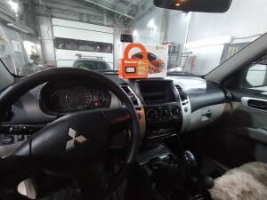 Mitsubishi pajero sport установка сигнализации 2