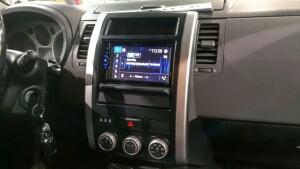 Nissan X-Trail установка магнитолы 2