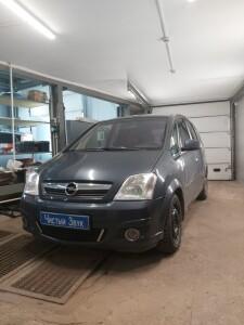 Opel Meriva установка сигнализации 1