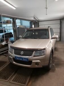 Suzuki Grand Vitara установка сигнализации 1
