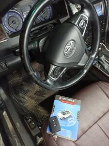 Toyota Camry установка сигнализации 2