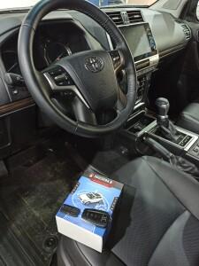 Toyota LC 150 Prado установка сигнализации 2