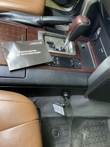 Toyota Lc 200 амок на кпп 4