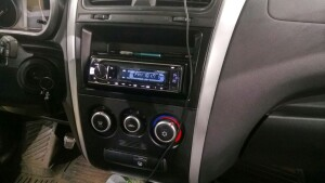 установка акустики на Datsun ON-Do 3
