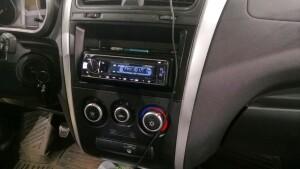 установка акустики на Datsun ON-Do 4